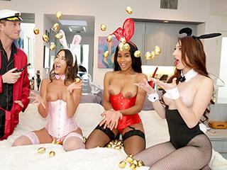 Easter Egg Cunt – Lily Adams, Jenna Foxx,, Nina Skye