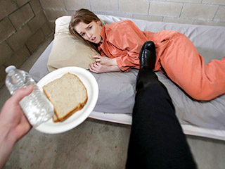 Rough Teen BDSM – Inmate Blues